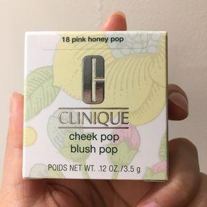 Clinique cheek pop blush pop 18 pink honey pop